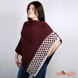 Moroccan Weekend Wrap - free crochet pattern on Moogly