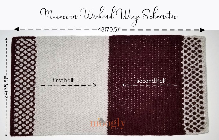 Moroccan Weekend Wrap Schematic