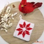 Nordic Star Christmas Ornament Pouch