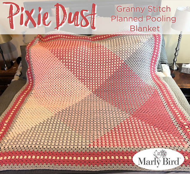 Pixie Dust Blanket by Marly Bird - free crochet pattern!