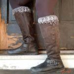 Smokestack Boot Cuffs - free crochet pattern on Moogly!