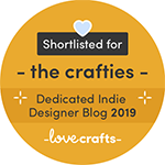 Shortlisted for the Crafties!
