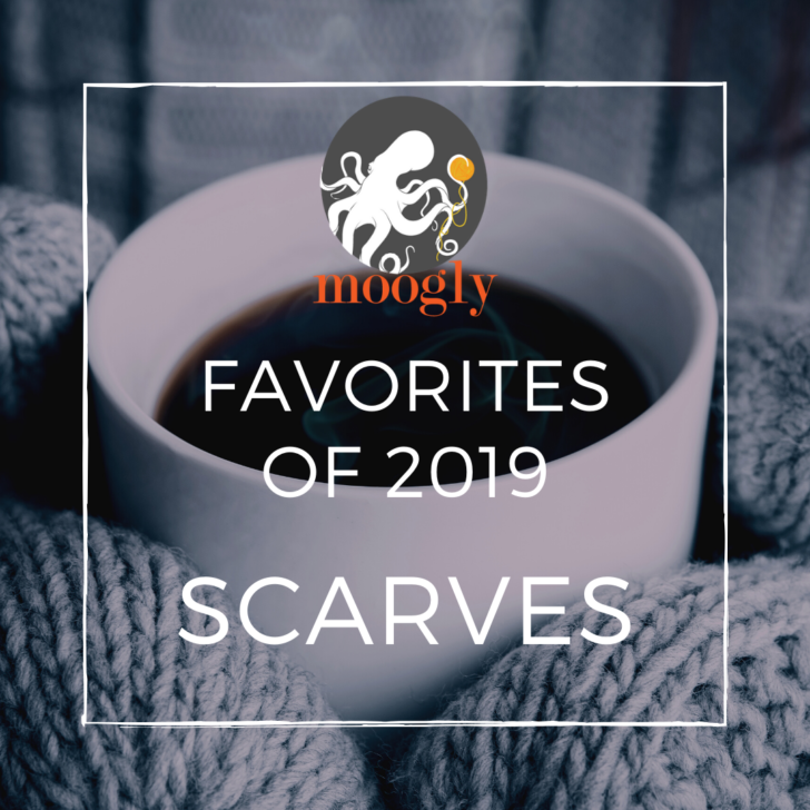 Moogly's Favorite Free Crochet Scarf Patterns for 2019