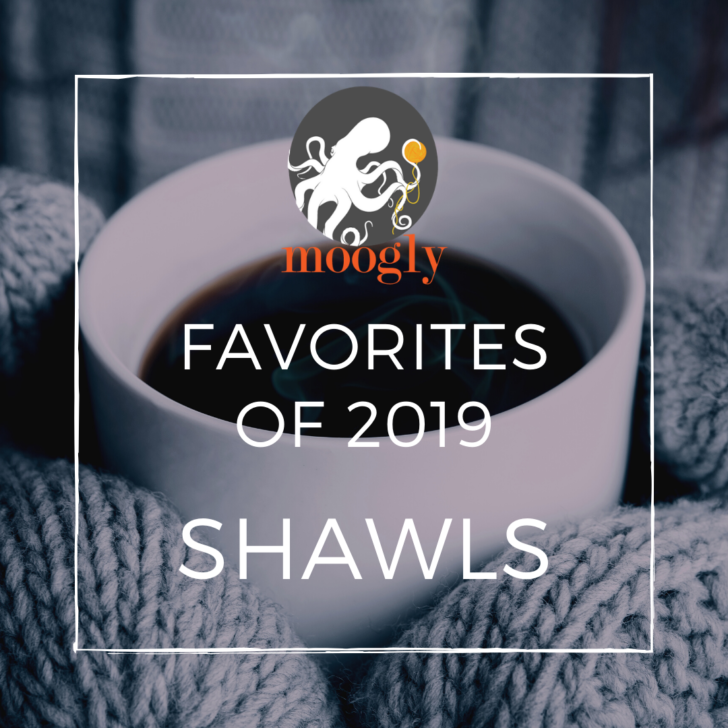 Moogly's Favorite Free Crochet Shawl Patterns for 2019