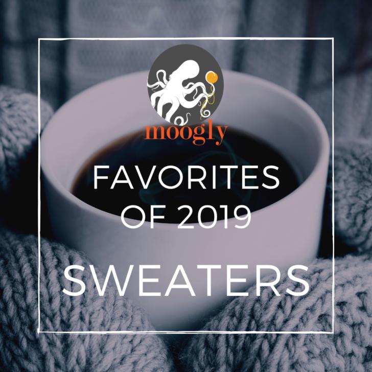 Moogly's Favorite Free Crochet Sweater Patterns for 2019