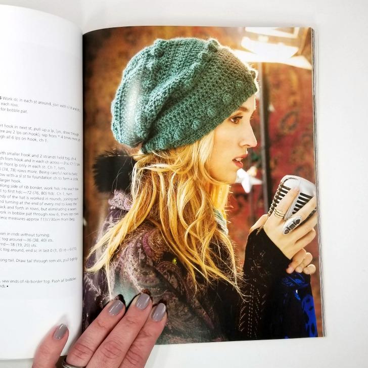 Crochet This! - green crochet hat