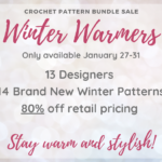 Winter Warmers – Crochet Pattern Bundle Sale THIS WEEK ONLY!