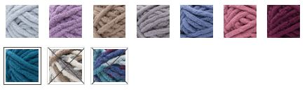 Colorways of Bernat Blanket Extra