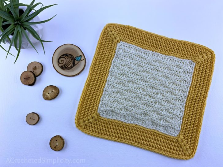 Triple Texture Square by A Crocheted Simpliicity