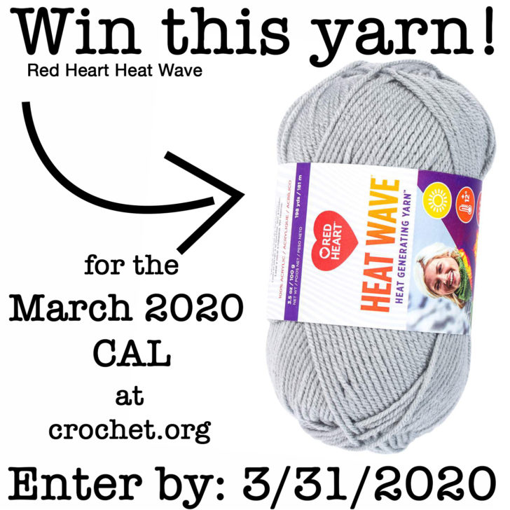 CGOA Yarn Giveaway for the March 2020 CAL