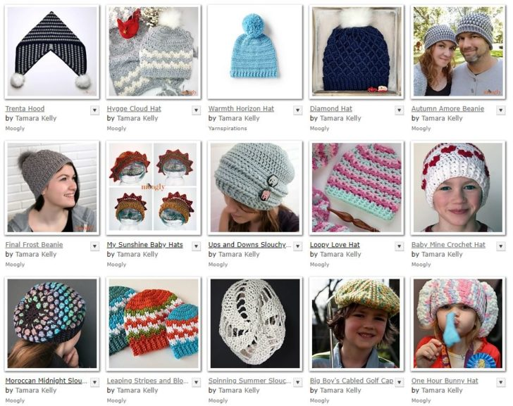 Find over 40 free crochet hat patterns on Moogly!