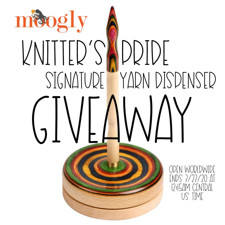 Knitter's Pride Signature Yarn Dispenser Giveaway