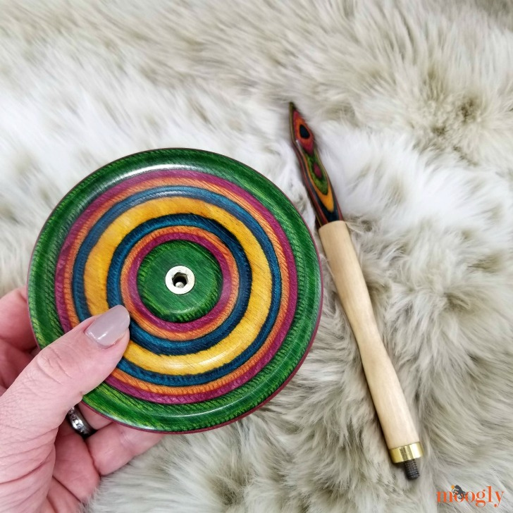 Knitter's Pride Signature Yarn Dispenser Giveaway - parts