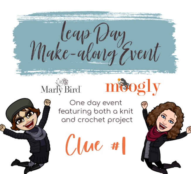 Leap Day Mystery Make Along Event Clue 1