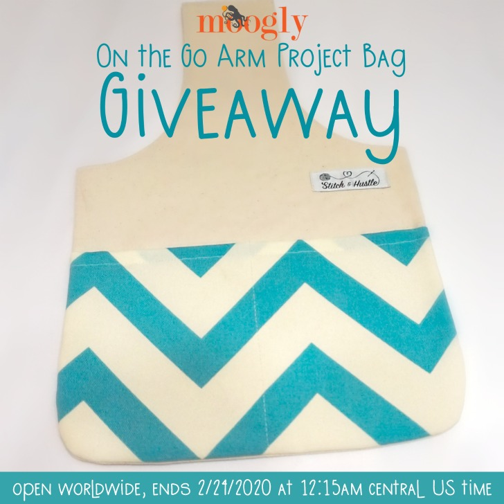On The Go Arm Project Bag Giveaway - open worldwide on Moogly!