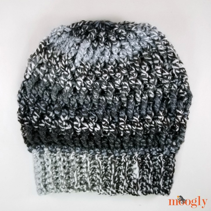 Smokestack Hat - get the free crochet pattern in 3 sizes on Moogly!