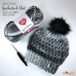 Smokestack Hat Tutorial - right and left-handed videos for this free crochet pattern on Moogly!