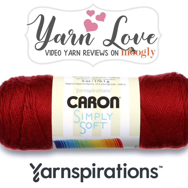 Yarn Love- Caron Simply Soft review on Moogly
