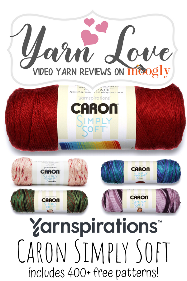 Yarn Love- Caron Simply Soft Video Review on Moogly!