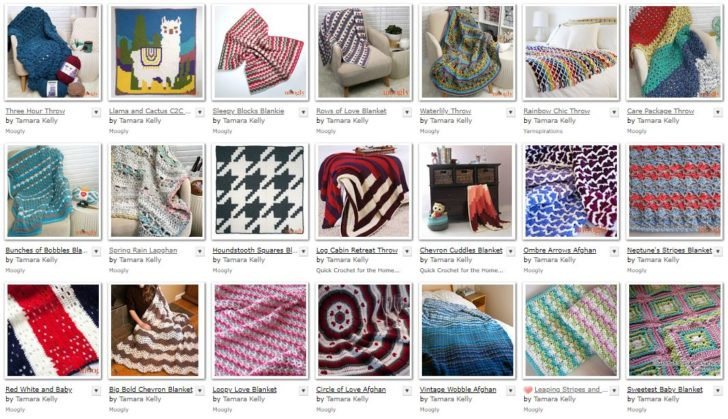 Free Blanket Patterns on Moogly