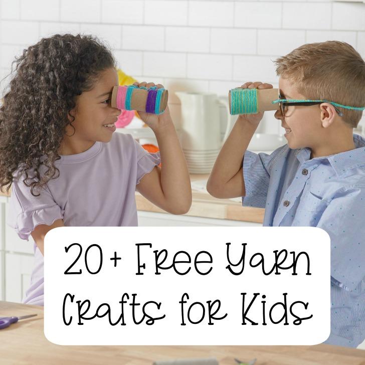 20+ Free Yarn Crafts for Kids - Moogly