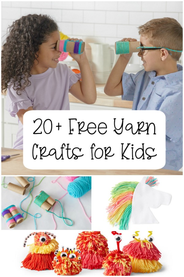 20+ Free Yarn Crafts for Kids - Moogly