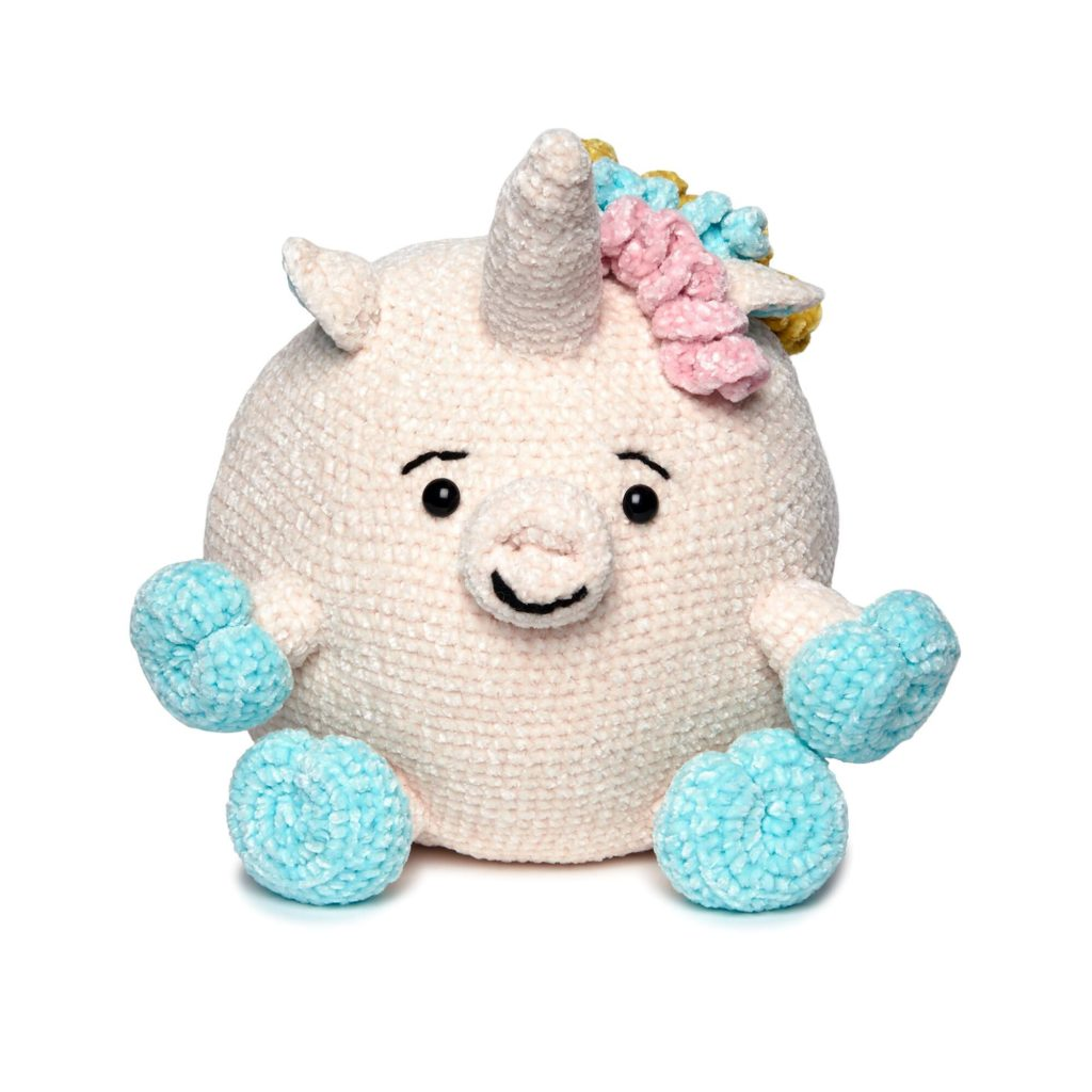 Bernat Crochet Unicorn Stuffie