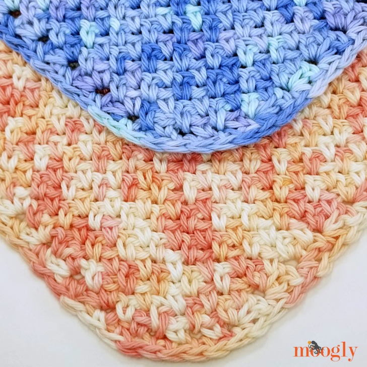 Bandana Scarf Bib - free crochet pattern on Moogly!