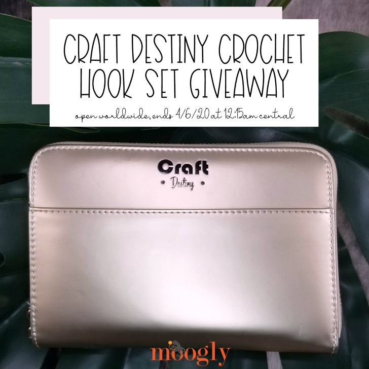 Craft Destiny Crochet Hook Set Giveaway on Moogly