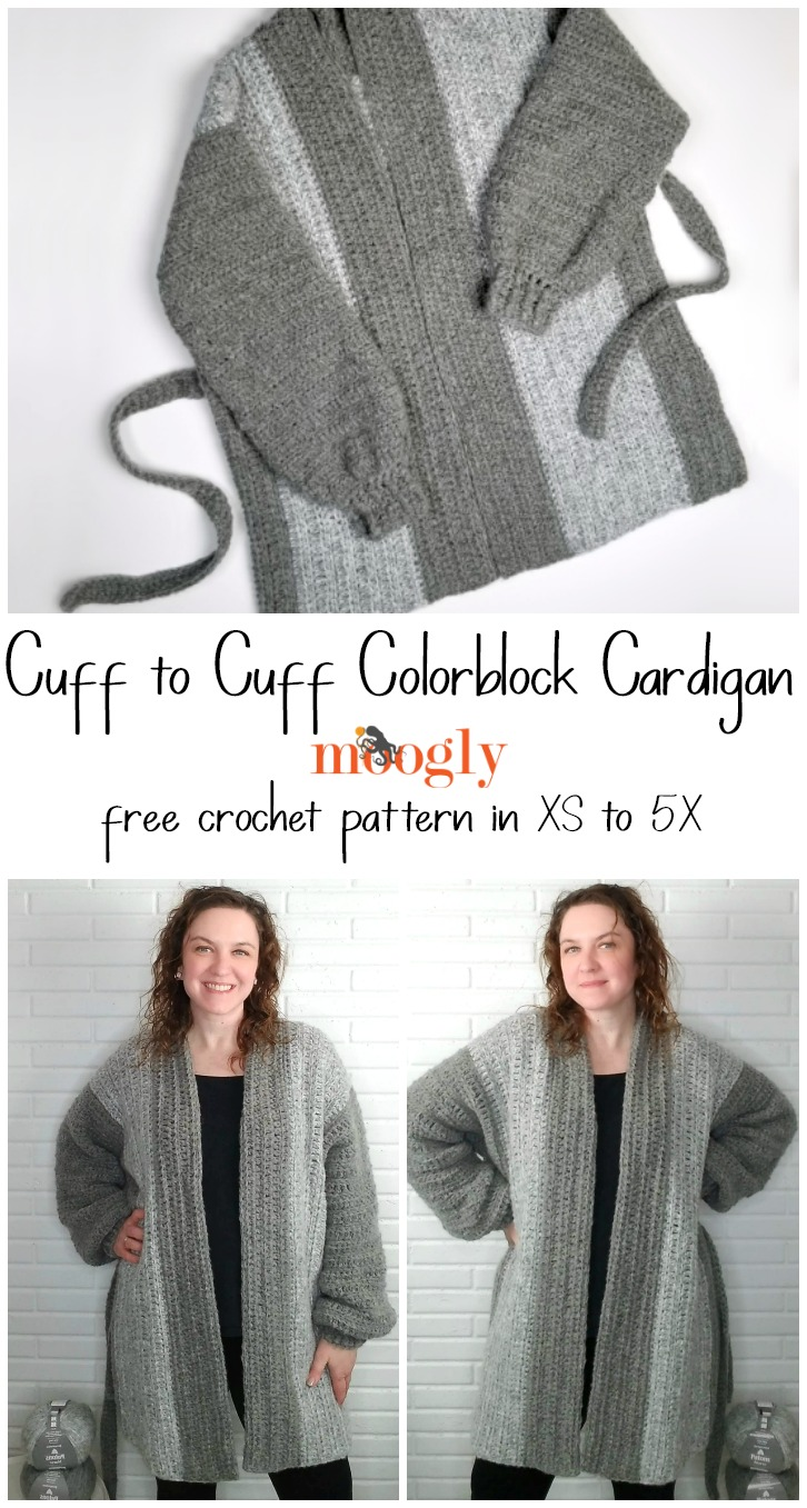 Cuff to Cuff Colorblock Cardigan - pin 1