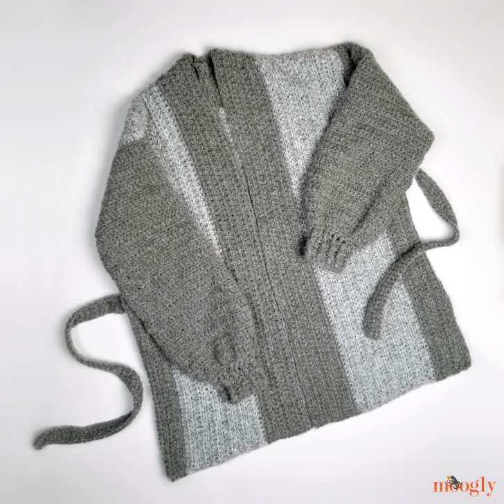 Cuff to Cuff Colorblock Cardigan - flat 1 DIR