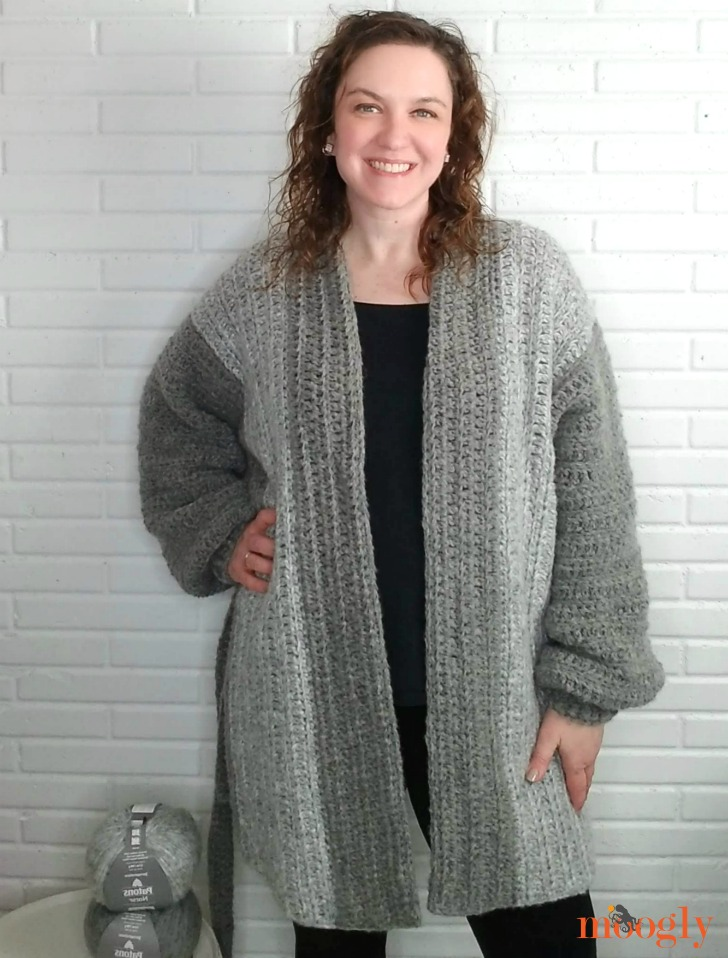 Cuff to Cuff Colorblock Cardigan - modeled, 2, WEB