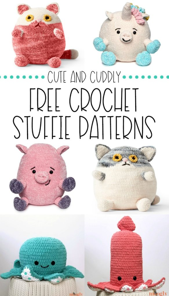 Free Crochet Stuffie Patterns - collection on Moogly!