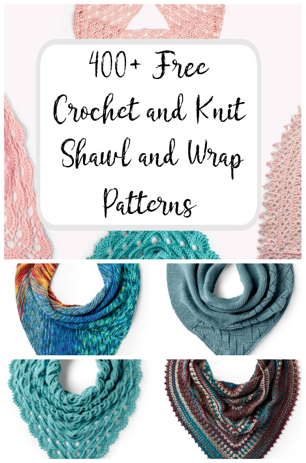 Free Crochet and Knit Shawl and Wrap Patterns