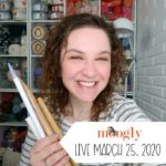Moogly Live: March 25, 2020 – How to Use a Nostepinne!