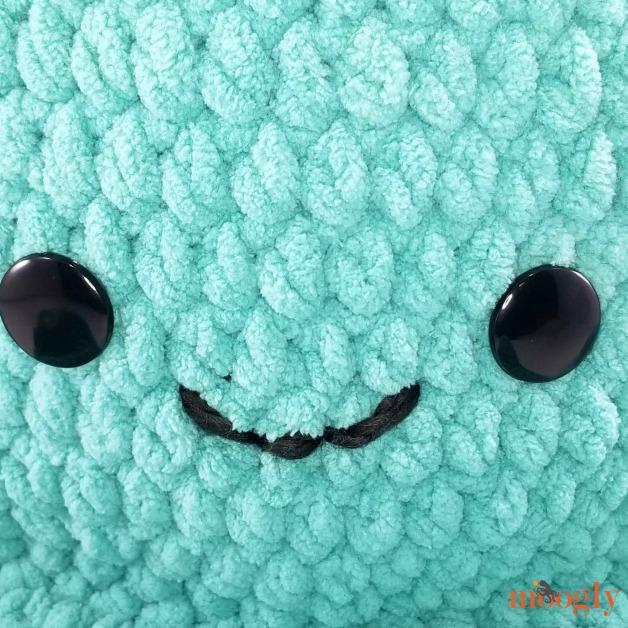 Octopus Squish - face closeup
