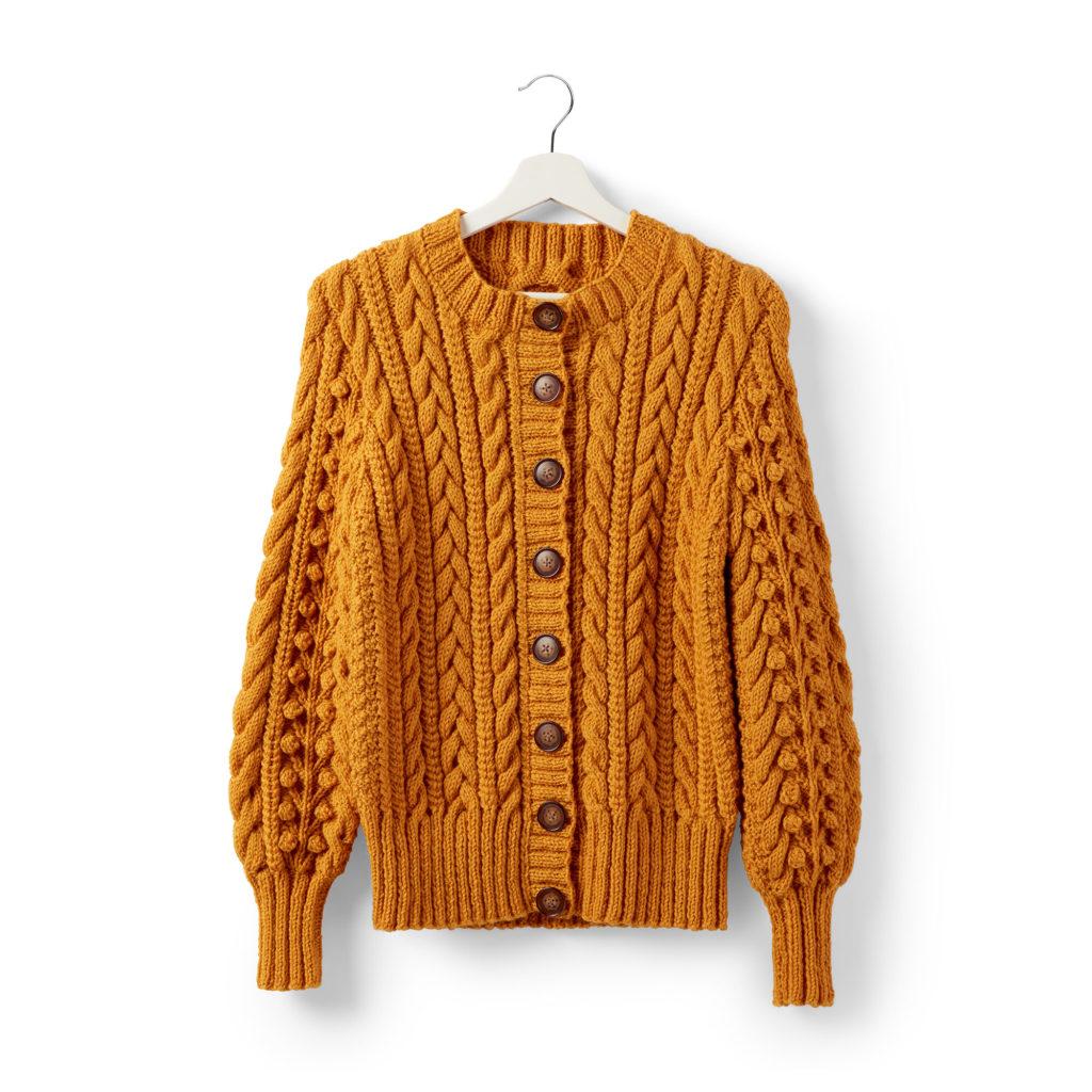 Patons Dovercourt Knit Cardigan - free pattern!