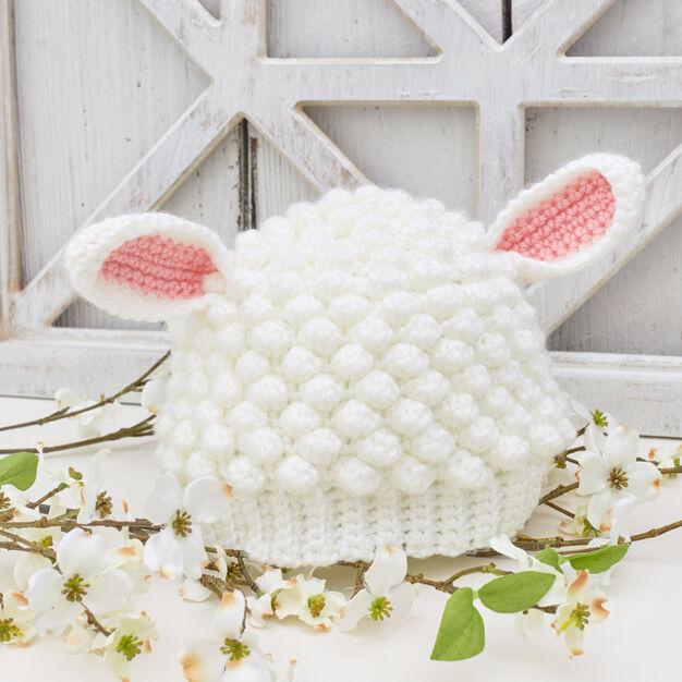 Red Heart Sweet Lamb Crochet Hat