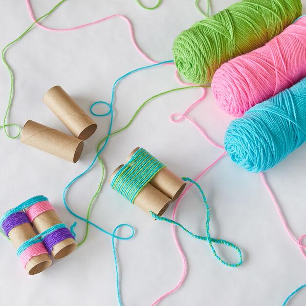 I Spy Binoculars - - Free Yarn Crafts for Kids on Moogly
