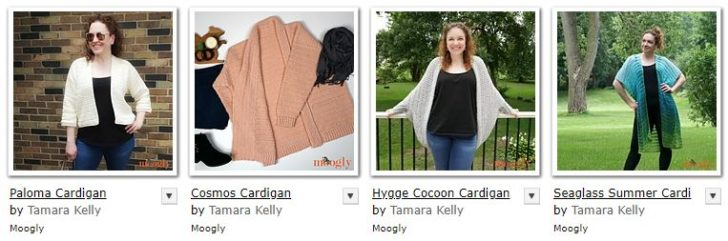 Free Crochet Cardigans on Moogly
