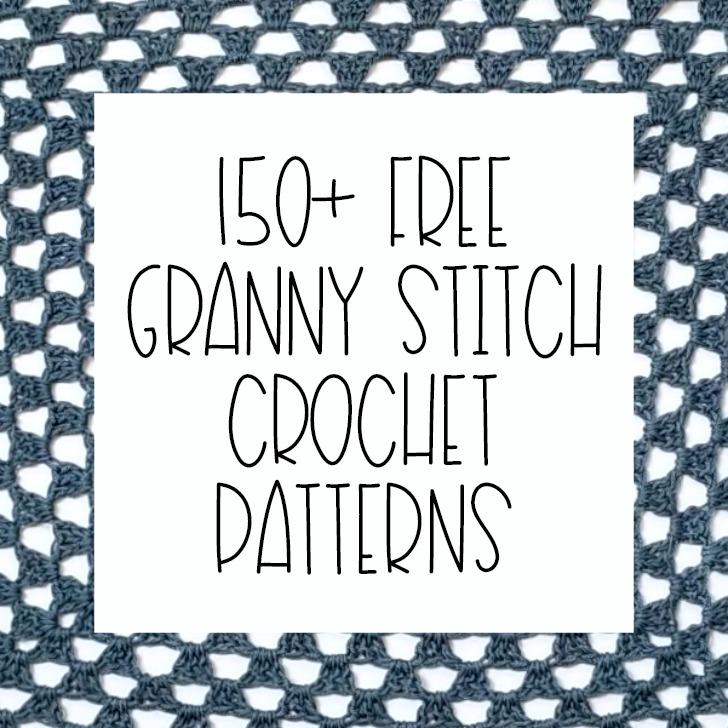 150+ Free Granny Stitch Crochet Patterns - Moogly
