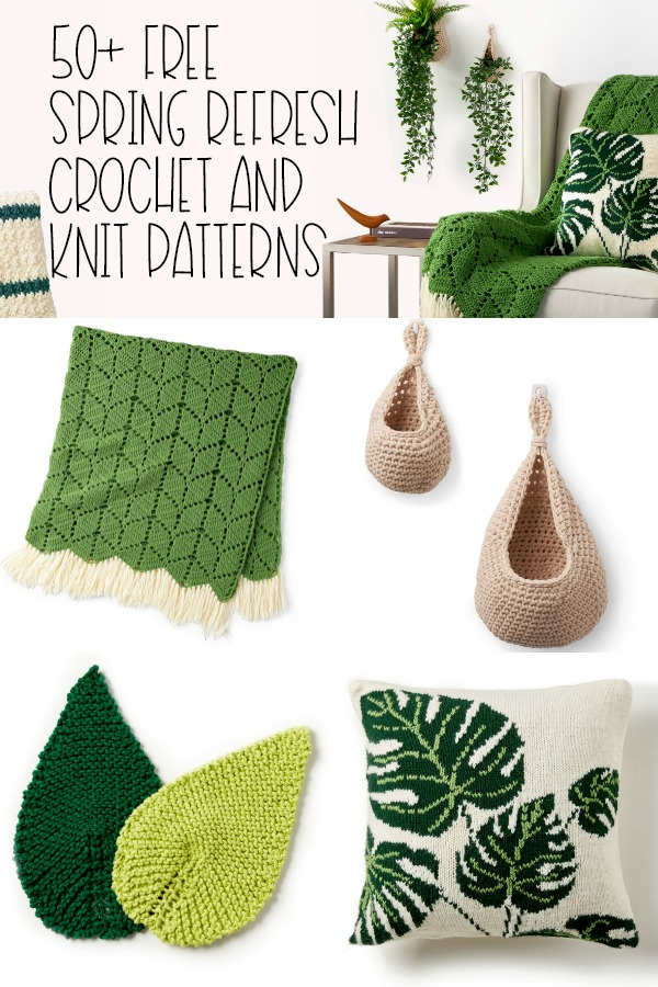 50+ Free Spring Refresh Crochet and Knit Patterns - Moogly