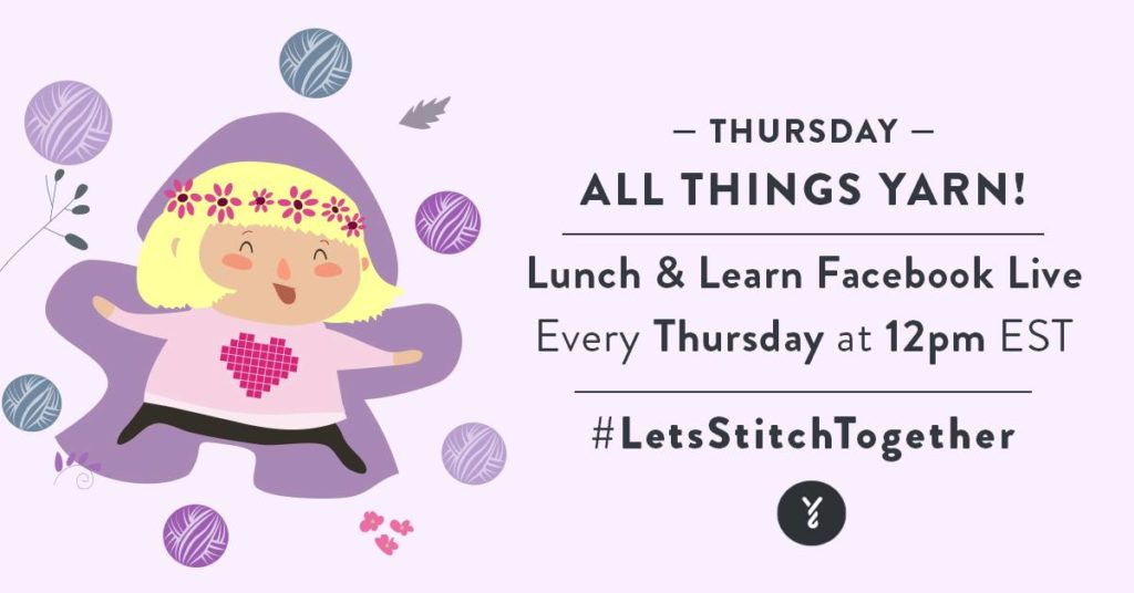 Lunch and Learn with Yarnspirations