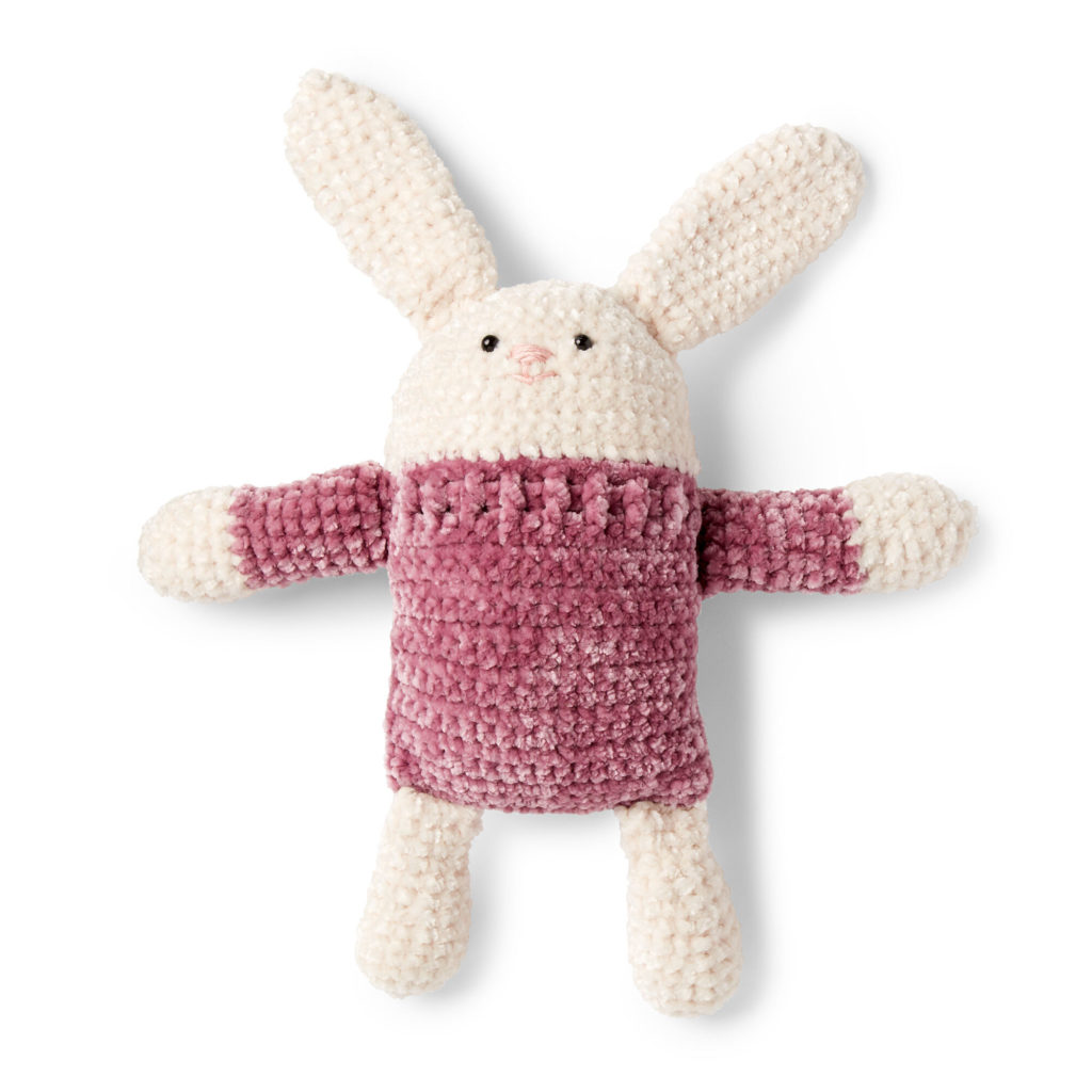 Square Hare to Crochet - free pattern!