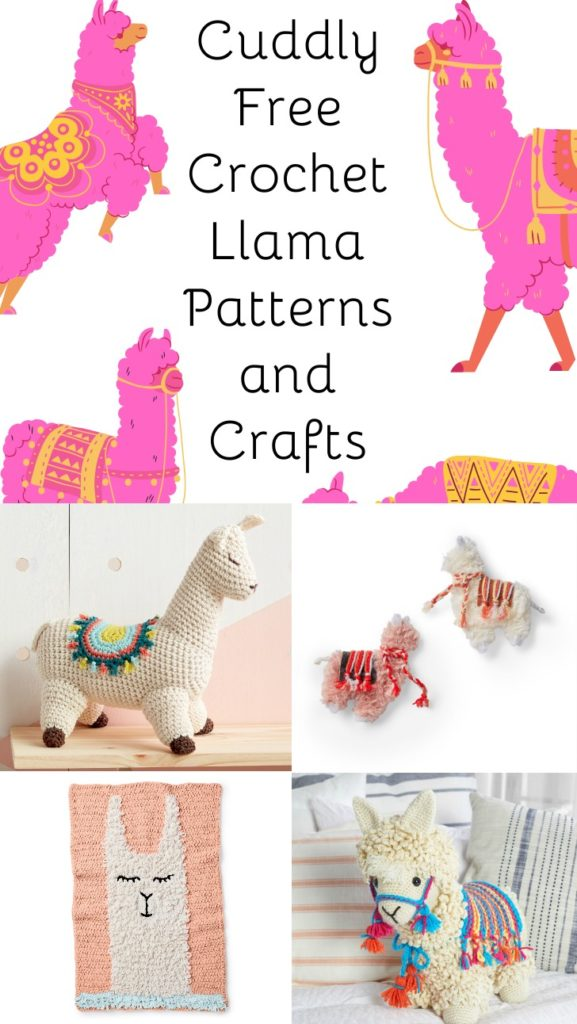 Cuddly Free Crochet Llama Patterns and Crafts