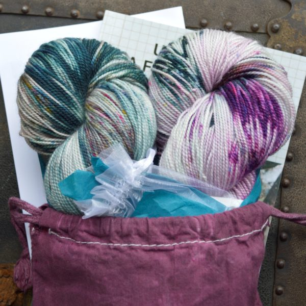 Ficstitches Yarns Kit Club - go on a yarny adventure with stories, patterns, and more!