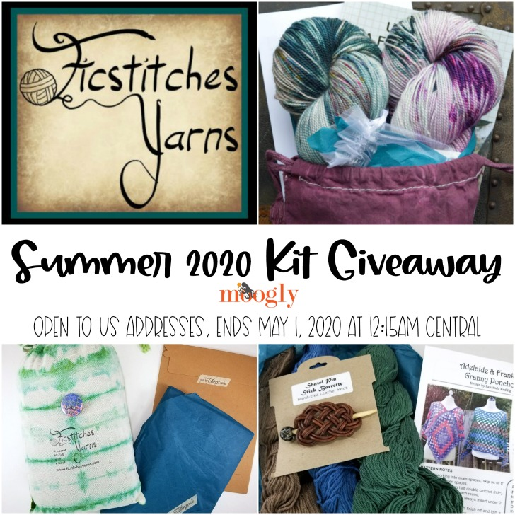 Ficstitches Yarns Summer 2020 Kit Giveaway on Moogly