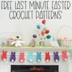 Free Last Minute Easter Crochet Patterns