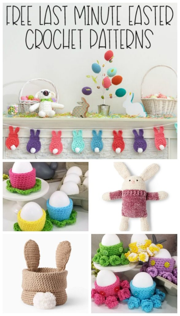 Free Last Minute Easter Crochet Patterns - Moogly