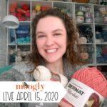 Moogly Live: April 15, 2020 – Quick Crochet Ear Saver Tutorial!
